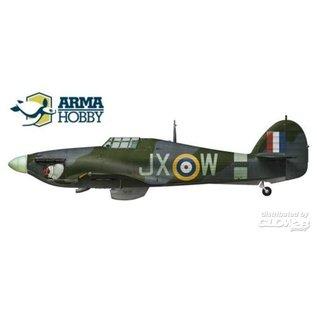Arma Hobby Hurricane Mk.IIc Expert Set - 1:72