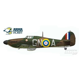 Arma Hobby Hawker Hurricane Mk.I Battle of Britain - Limited Edition - 1:72