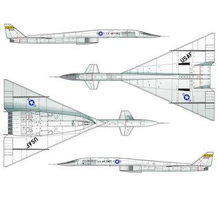 Italeri North American XB-70 Valkyrie - 1:72