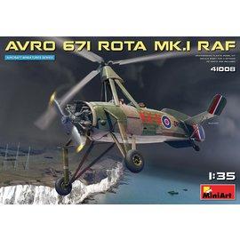 MiniArt MiniArt - Avro 671 Rota Mk.I RAF - 1:35