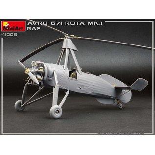 MiniArt Avro 671 Rota Mk.I RAF - 1:35