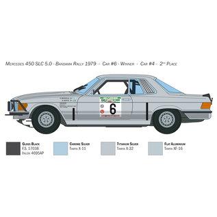 Italeri Mercedes-Benz 450SLC Rallye Bandama 1979 - 1:24