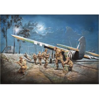Italeri Airspeed AS.51 Horsa Mk.I with Paratroopers - 1:72