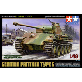 TAMIYA Tamiya - Dt. Panzer Panther Typ G - 1:48