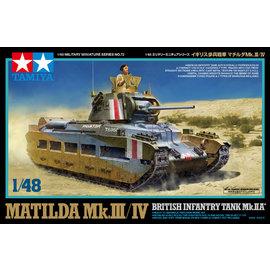 TAMIYA Tamiya - Brit. Matilda Mk.III/IV - 1:48