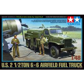 TAMIYA Tamiya - US 2,5to 6x6 Flugfeld Tankwagen - 1:48