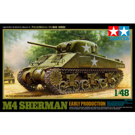 TAMIYA Tamiya - US mittlerer Panzer M4 Sherman (frühe Ausf.) - 1:48