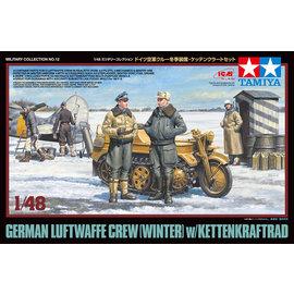 TAMIYA Tamiya - Luftwaffen-Crew (Winter) mit Kettenkrad - 1:48