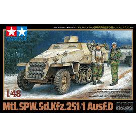 TAMIYA Tamiya - Sd.Kfz.251/1 Ausf.D Halbkette - 1:48