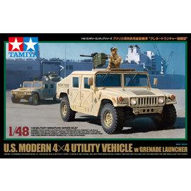 TAMIYA Tamiya - US Humvee 4x4 mit Granatmaschinenwaffe - 1:48