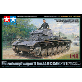 TAMIYA Tamiya - Dt. Panzer II Ausf.A/B/C Frankreichfeldzug - 1:48