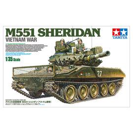 TAMIYA Tamiya - M551 Sheridan Airborne Tank Vietnam War - 1:35