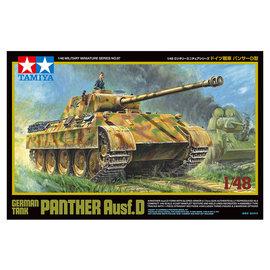 TAMIYA Tamiya - dt. KPz Panther Ausführung D - 1:48