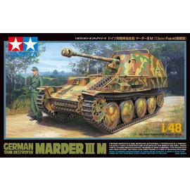 TAMIYA Tamiya - dt. Panzerjäger Marder III M - 1:48