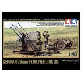 TAMIYA Tamiya - Dt. 20mm Flakvierling 38 - 1:48