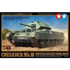 TAMIYA Tamiya - Brit. Panzer Crusader Mk.III & IV - 1:48