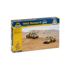 Italeri Italeri - M4A2 Sherman III - 1:72