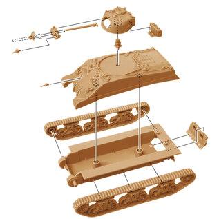 Italeri M4A2 Sherman III - 1:72