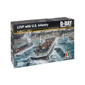 """Italeri Italeri - LCVP (""""Higgins Boat"""") mit US Infanterie - 1:35"""