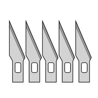Donau Elektronik Ersatzklingen für Präzisionsmesser MS01, 5 Stck.
