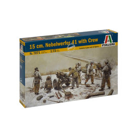 Italeri Italeri - dt. 15cm Nebelwerfer mit Bedienmannschaft - 1:72