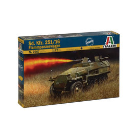 Italeri Italeri - Sd.Kfz. 251/16 Flammpanzerwagen - 1:72