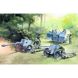Italeri Italeri - German Gun Set: PaK35, PaK40, FlaK38 - 1:72