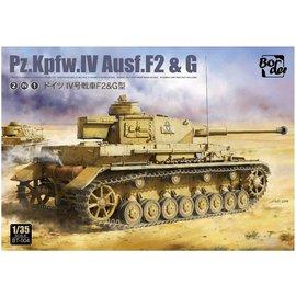 Border Model Border Model - Pz.Kpfw.IV Ausf. F2 & G - 1:35