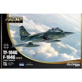 Kinetic KINETIC - Lockheed F-/TF-104G Starfighter German Airforce  - 1:48