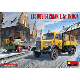 MiniArt MiniArt - Mercedes L1500S 1,5t LKW - 1:35