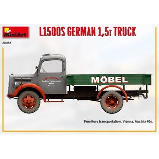 MiniArt Mercedes L1500S 1,5t LKW - 1:35