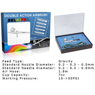 Belkits Airbrush BEL-AIR004 Double Action