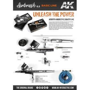 AK Interactive Airbrush Basic Line 0.3