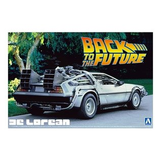 "Aoshima DeLorean - ""Back to the future"" Part I - 1:24"