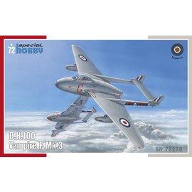 Special Hobby Special Hobby - DeHavilland DH.100 Vampire Mk.3 - 1:72