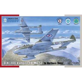 Special Hobby Special Hobby - DeHavilland DH.100 Vampire Mk.52 - 1:72