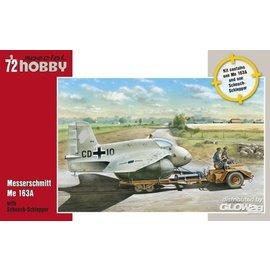 Special Hobby Special Hobby - Messerschmitt Me163A mit Scheuch-Schlepper - 1:72