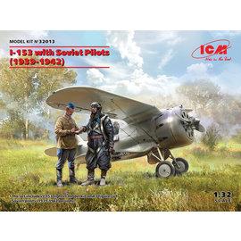 """ICM ICM - Polikarpow I-153 """"Tschaika"""" (Möwe) - 1:32"""
