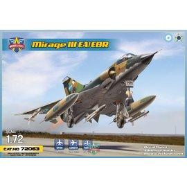Modelsvit Modelsvit - Dassault Mirage IIIEA/EBR fighter-bomber (6 camos) - 1:72