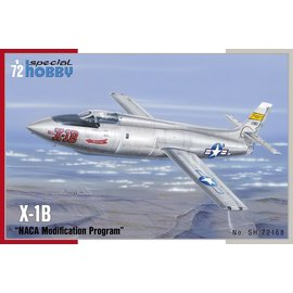 "Special Hobby Special Hobby - Bell X-1B NACA Modification Program"" - 1:72"
