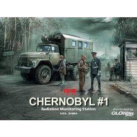 """ICM ICM - ZiL-131KShM Truck Radiation Monitorung """"Chernobyl""""  - 1:35"""