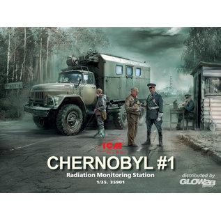 """ICM ZiL-131KShM Truck Radiation Monitorung """"Chernobyl""""  - 1:35"""