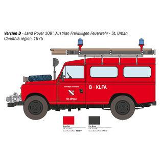 Italeri Land Rover Fire Truck - 1:24