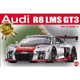 NuNu Model Kit Nunu / Platz - Audi R8 LMS GT3 SPA 24 Hours'15 - 1:24