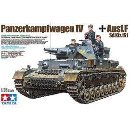 TAMIYA Tamiya - Dt. Pz.Kpfw IV Ausf.F L24/75mm - 1:35