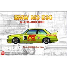 NuNu Model Kit NuNu - BMW M3 E30 Gr.A 91 AUTO TECH - 1:24