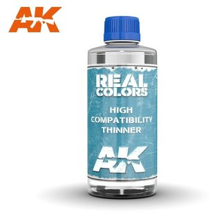 AK Interactive Real Color High Compatibility Thinner - 400ml