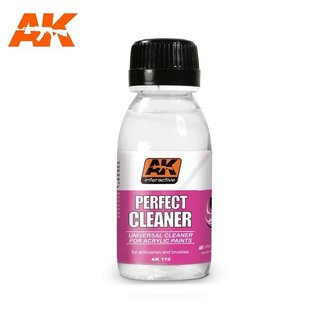 AK Interactive Perfect Cleaner - Reiniger f. Acryl-Farben - 100ml