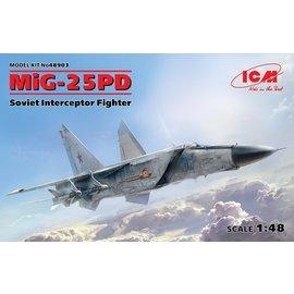 ICM ICM - MiG-25PD Soviet Interceptor - 1:48