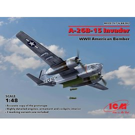 ICM ICM - Douglas A-26B-15 Invader WWII American Bomber - 1:48